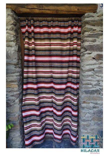 cortina Alpujarreño en tonos marrones