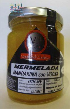 Mermelada de mandarina con vodka
