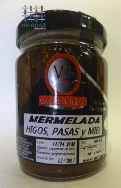 Mermelada de higos pasas y miel