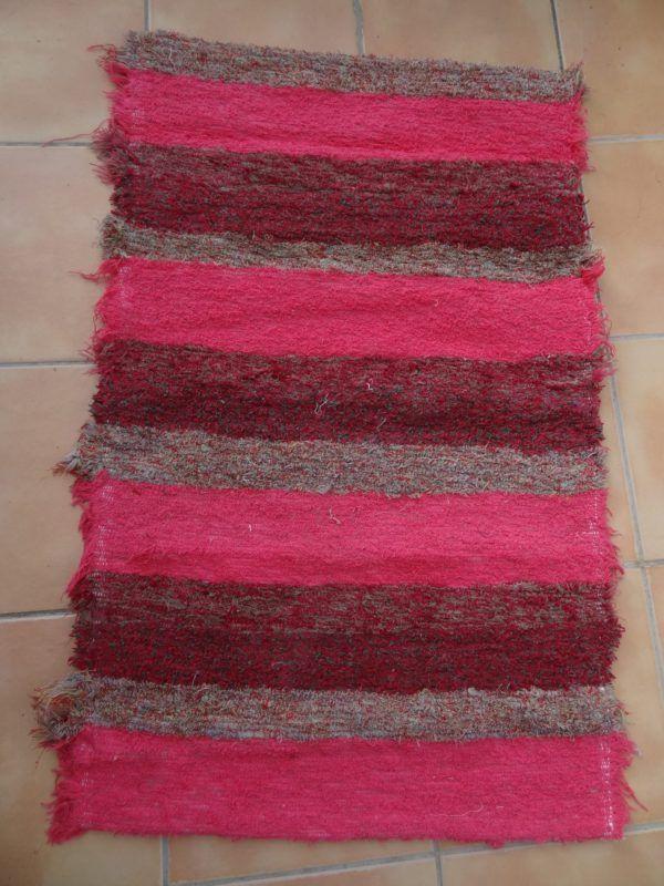Jarapa de pelo corto en tonos rosas
