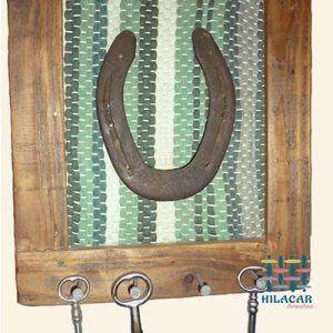 Llavero rustico de herradura