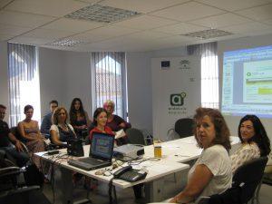 Jornadas informativas de Andalucía Emprende con la colaboracion de jarapa Hilacar