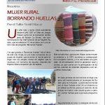 MUJER RURAL BORRANDO HUELLAS