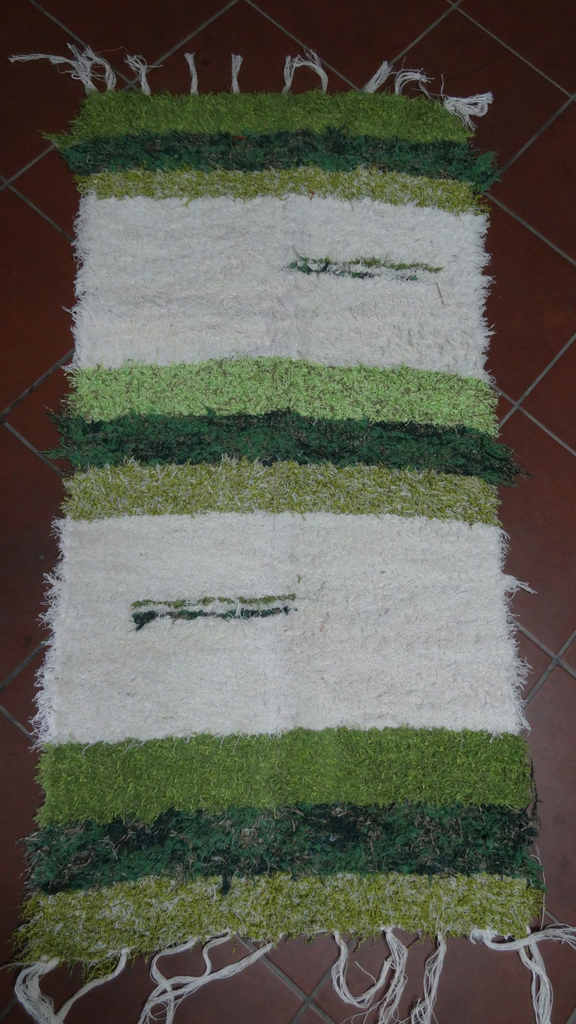 Jarapa Pie De Cama Verde