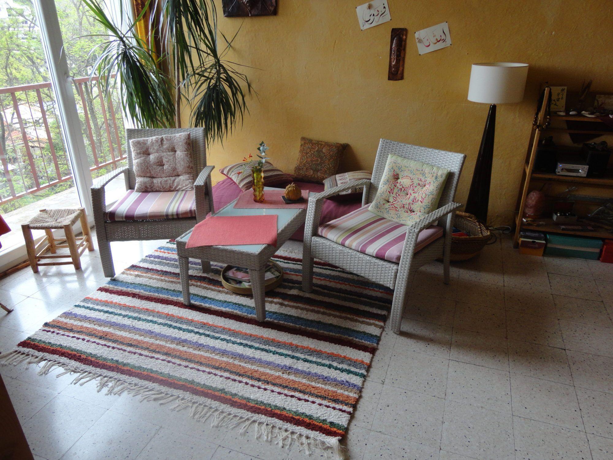 jarapa multicolor, ideal para cualquier sitio de una casa