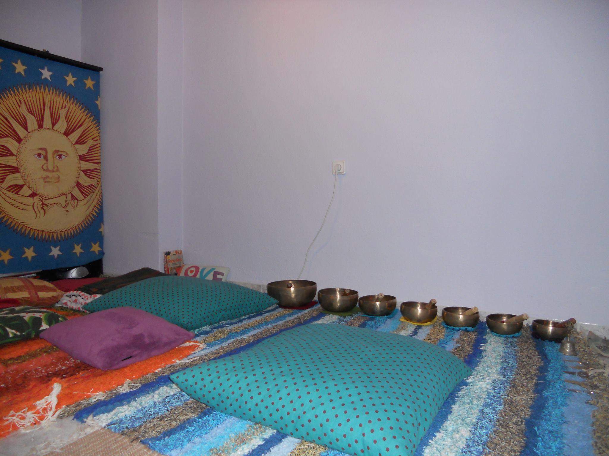 Jarapas de varios colores ideales para meditar