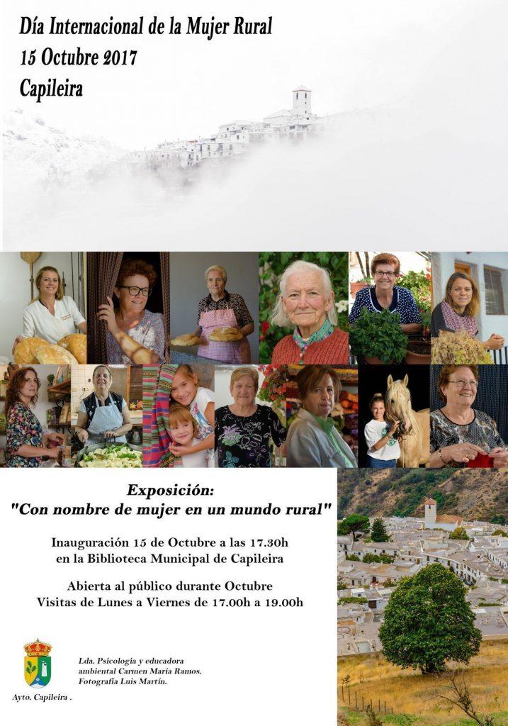 Exposición para el día internacional de la Mujer Rural