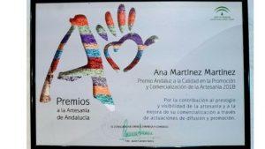 Premios Andaluz a la artesanía