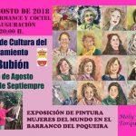 Mujeres del mundo en el Barranco Poqueira.