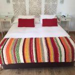 Plaid cama de jarapa