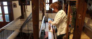 Telar de jarapas y artesanía en La Alpujarra