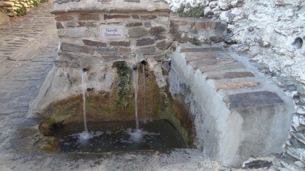 Fuente Hondera de Bubión Alpujarra