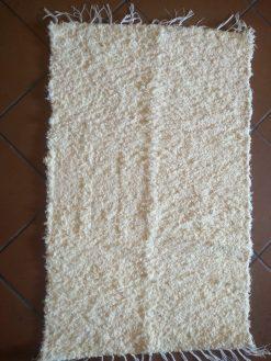 jarapa artesana Alpujarreña tonos blancos con crudo