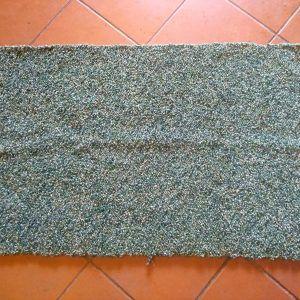 Jarapa artesana verde lisa (copia)