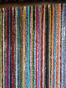 Detalle tiras de cortina alpujarreña