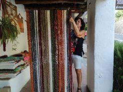 cortina mosquitera de colorines
