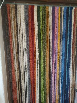 cortina de tiras de colorines mosquitera