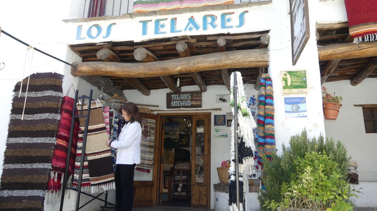 Taller textil artesano en la Alpujarra