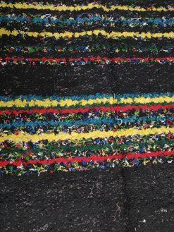 jarapa Alpujarreña negra con color
