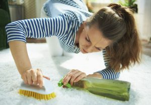 Como limpiar manchas en la alfombra