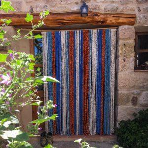 Cortina mosquitera de jarapa para puertas