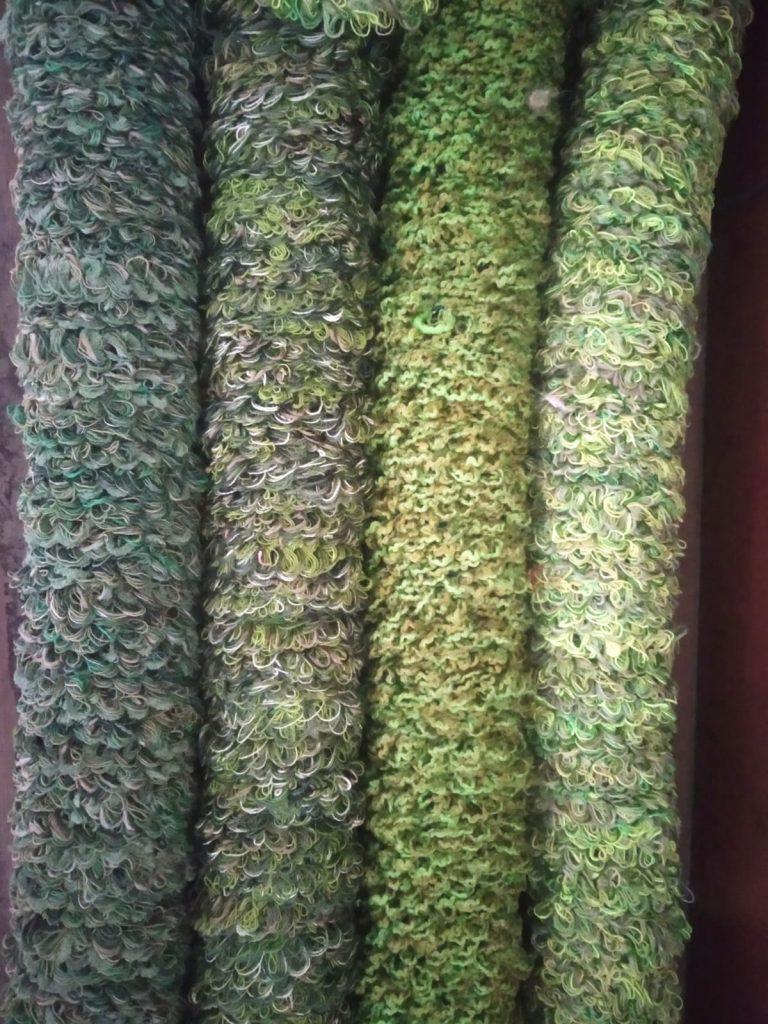 Jarapa de colores para fabricación de mosquiteras